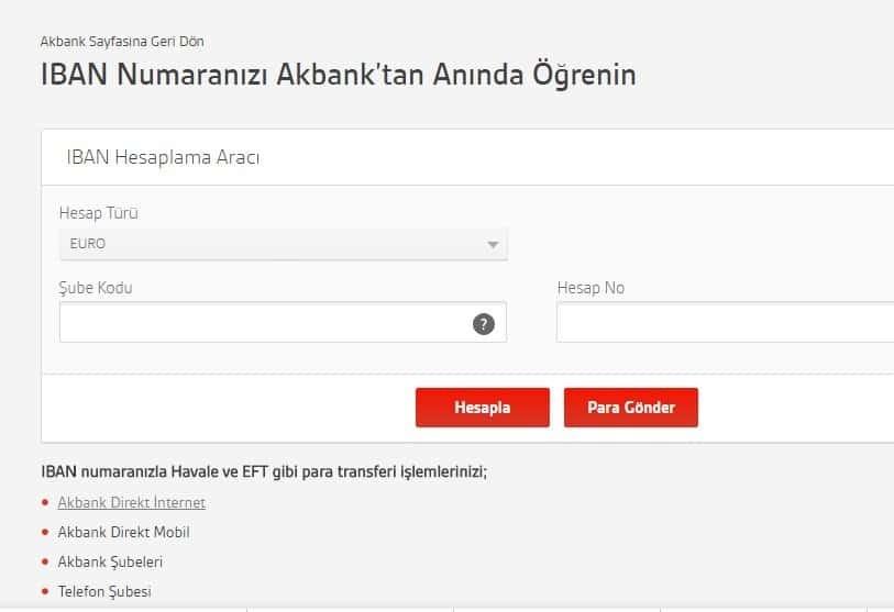 Akbank IBAN No Sorgulama Nasıl Yapılır? | Kredi ve Para