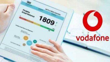 Vodafone'dan Kredi Notu Öğrenme