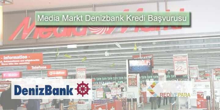 Media Markt Denizbank Kredi Başvurusu
