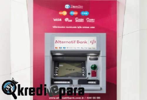 Alternatifbank Bankamatik Kartı