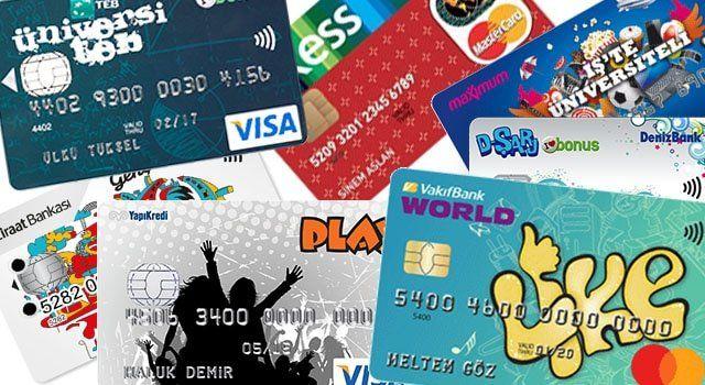 Öğrenciye kredi kartı veren bankalar nelerdir