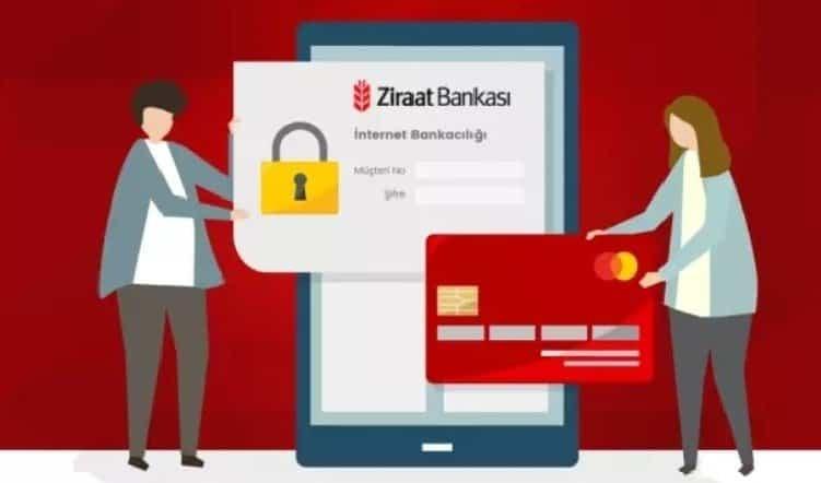 Ziraat Bankası Bankamatik Kartı Şifresi Alma