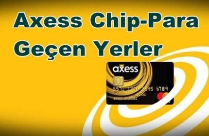 Chip para nerede kullanılır