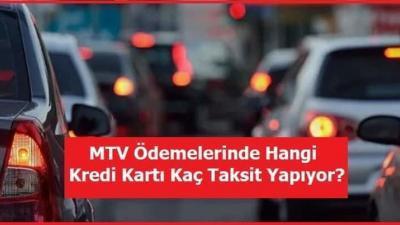 Kredi Kartı ile MTV Ödemesi Taksit Yapan Bankalar