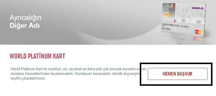 Albaraka Türk Katılım Bankası World Platinum Card İptal Etme