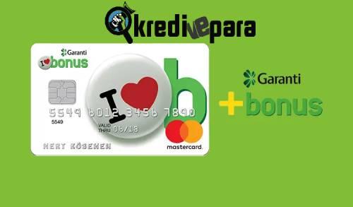 Garanti BBVA Bonus CardKredi Kartı İptal Etme