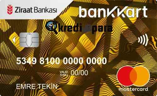 Ziraat Bankası Bankkart Gold Kredi Kartı İptal Etme