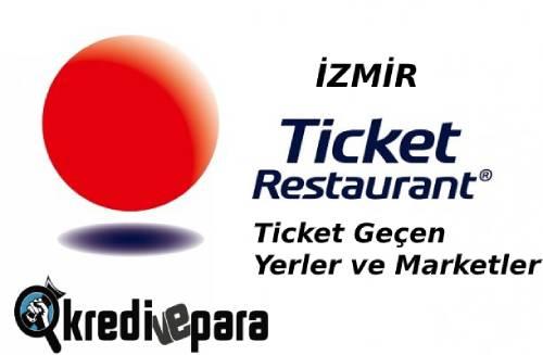 İzmir Ticket geçen Yerler ve Marketler