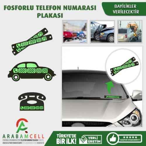 Otomobiller İçin Telefon Numara Tutacağı-Arabamcell