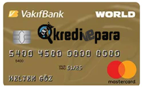 Vakıf Bank Worldcard Kredi Kartı İptal Etme Nasıl Yapılır?