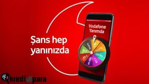 Vodafone hediye çarkı nedir nasıl yapılır